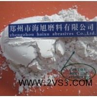 抛光蜡生产用河南白刚玉微粉1000目白色氧化铝1000#电熔氧化铝_图片