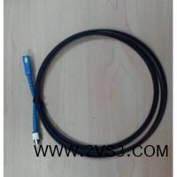 SC-UPC皮线跳线 单芯单模皮线光纤跳线生产厂家_图片