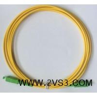 厂家供应全新大方头单芯单模SC-SC光纤跳线_图片
