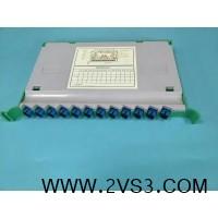 光纤一体化熔接盘 光纤一体化模块 12芯满配一体化盘厂家_图片