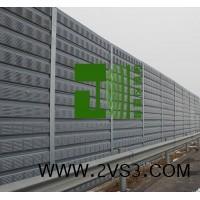 声屏障 高速公路隔音屏障 铁路沿线隔音墙 中央空调冷却塔隔音墙_图片