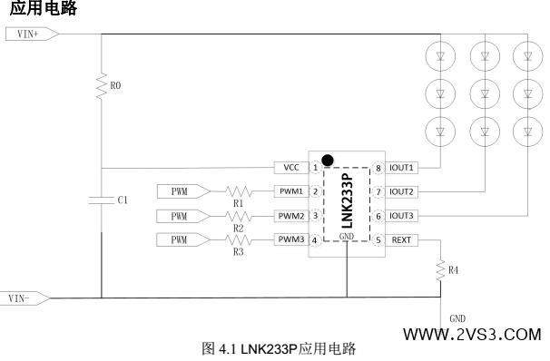 深圳钲铭科三线性led恒流驱动芯片lnk233p热销新品