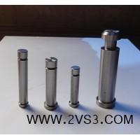订做各种非标模具配件 螺纹镶件镶针 模具芯子 冲头冲套 来图加工_图片