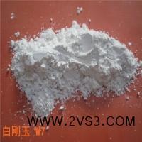 优质氧化铝段砂熔融白色金刚砂粒度砂白色人造磨料细粉白刚玉微粉_图片