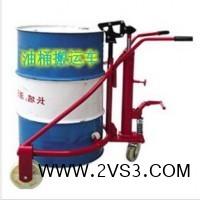 脚踏式油桶搬运车 大强机械厂值得信赖_图片