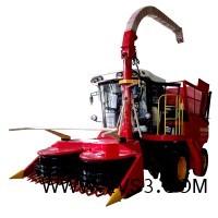 2.6米大型自走式玉米秸秆青贮机价格犇牛籽粒破碎青贮机_图片