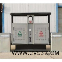厂家供应 镀锌板奥运桶 穿孔钢板果皮箱_图片