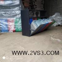 户外分类垃圾桶 四分类果皮箱 现货供应_图片