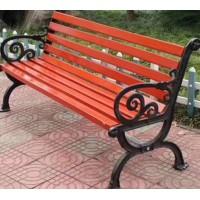 批发采购 公园凉椅 花边座椅 防腐木靠背椅